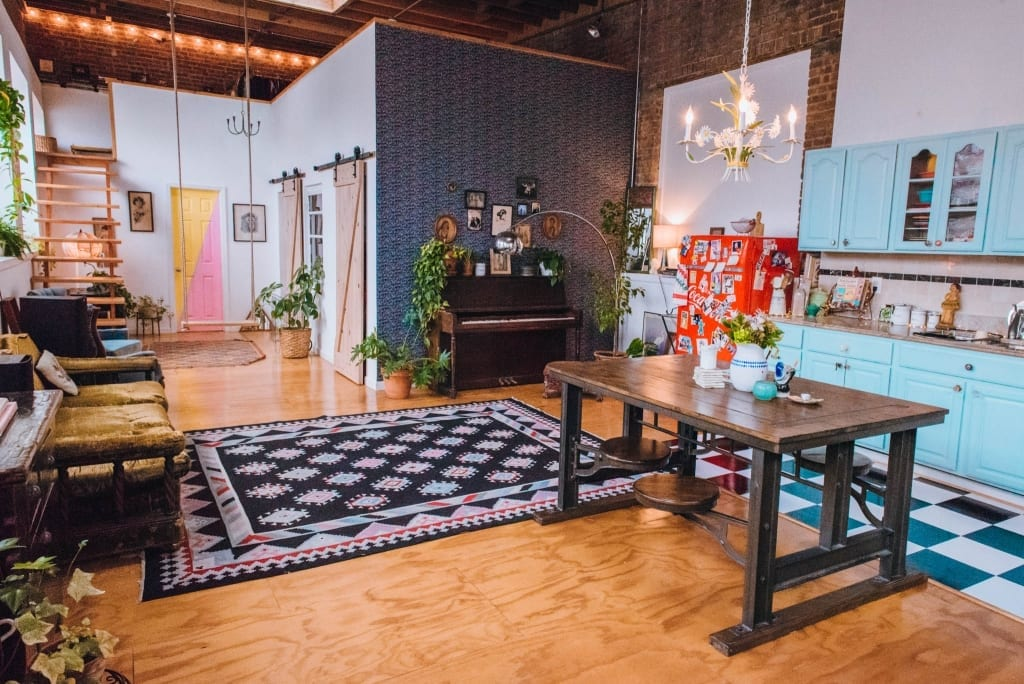 Staying At The Funky Loft In Brooklyn, NY - The Lovely Escapist