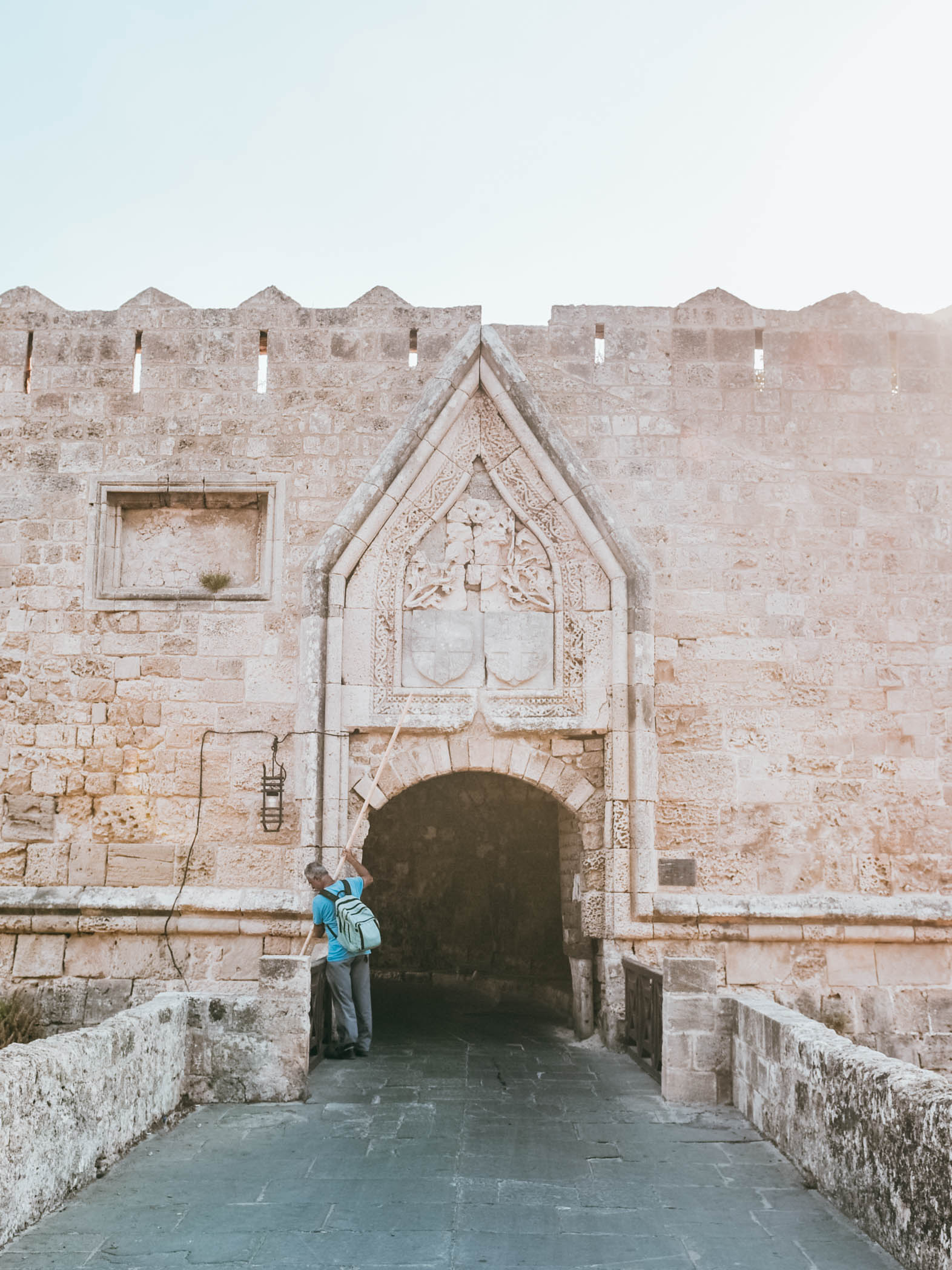 Medieval Rhodes City Gate