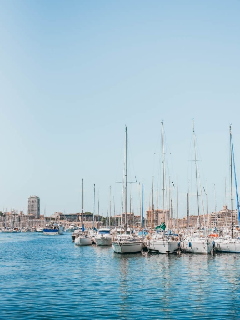 Marseille France Port
