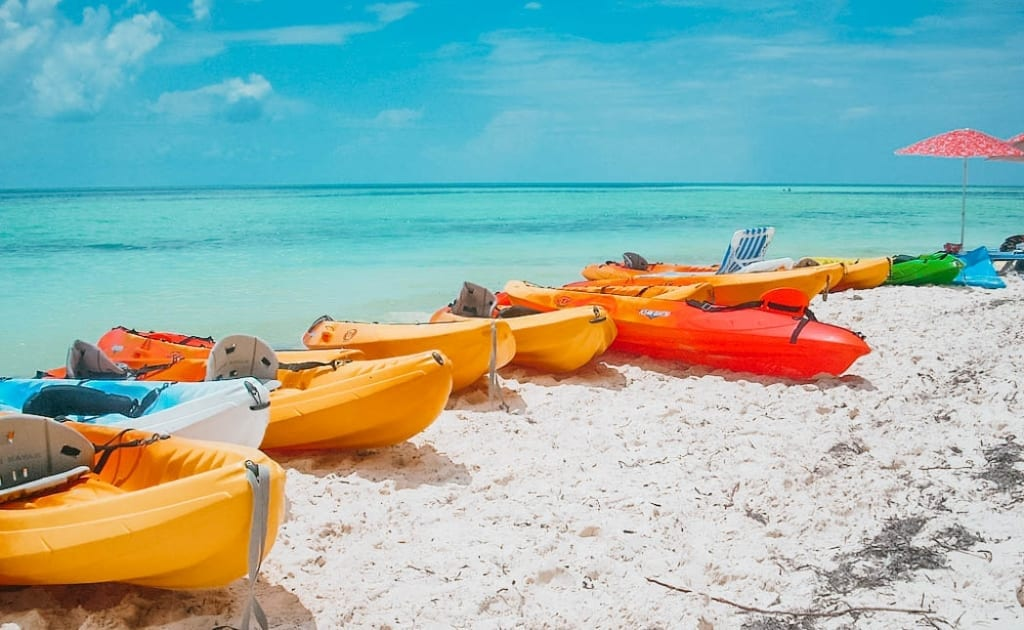 Kayaking in Antigua