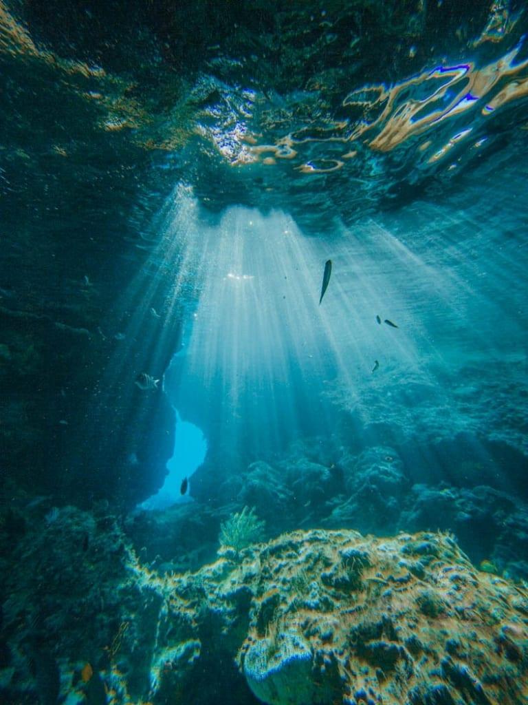 Thunderball Grotto Staniel Cay