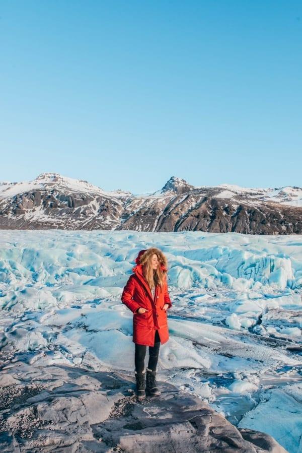 Svinafellsjokulsvegur Glacier