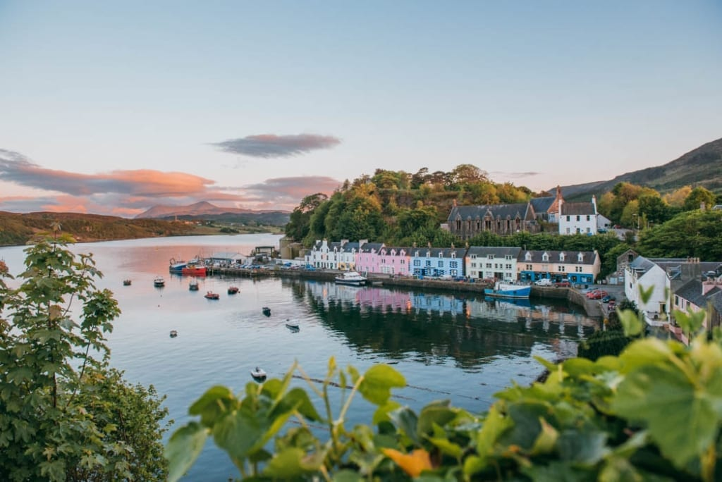 Where to stay portree