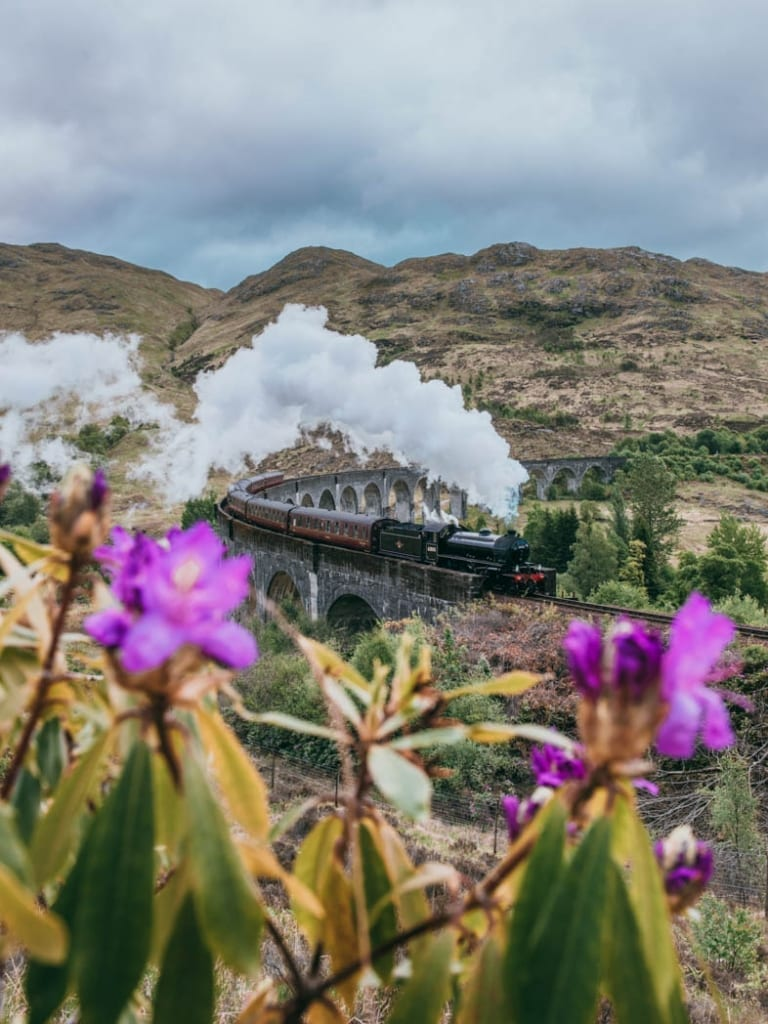 harry potter train scotland