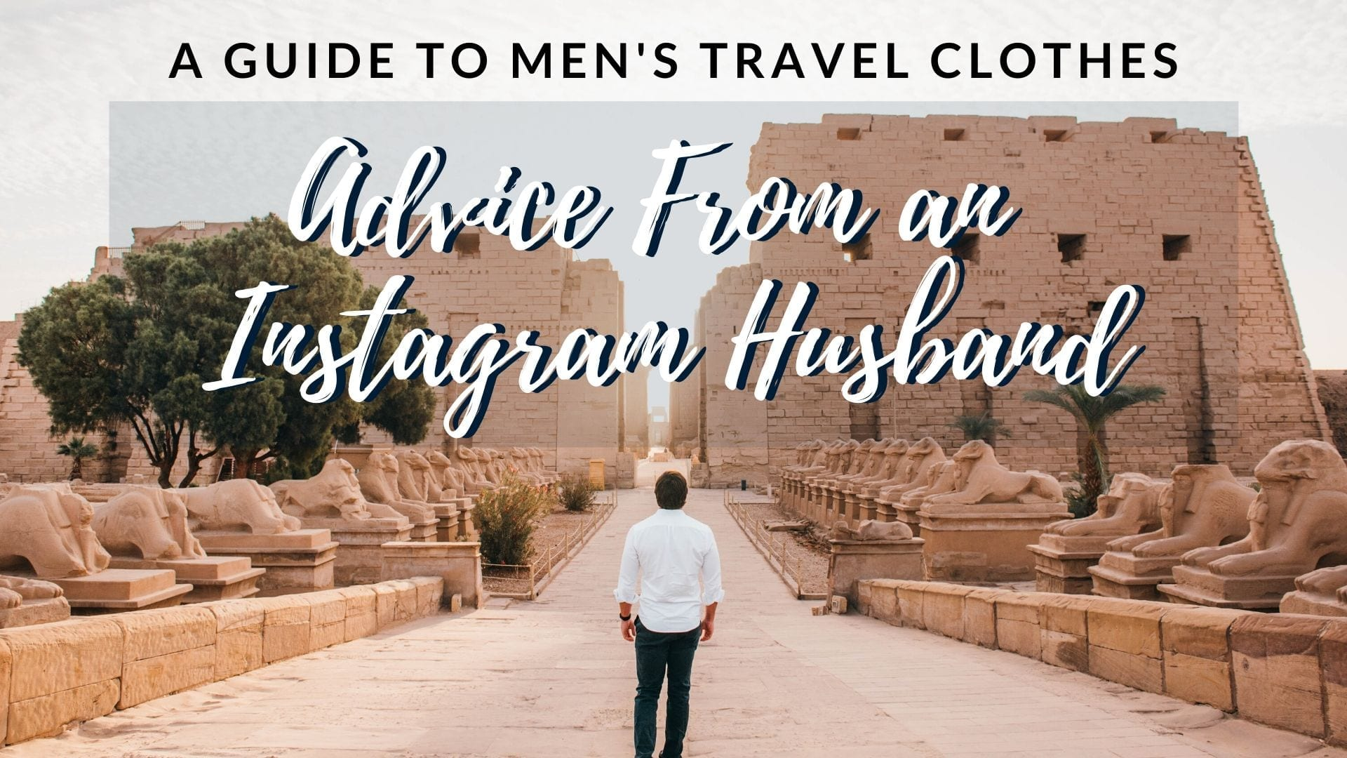 Travel clothes for men