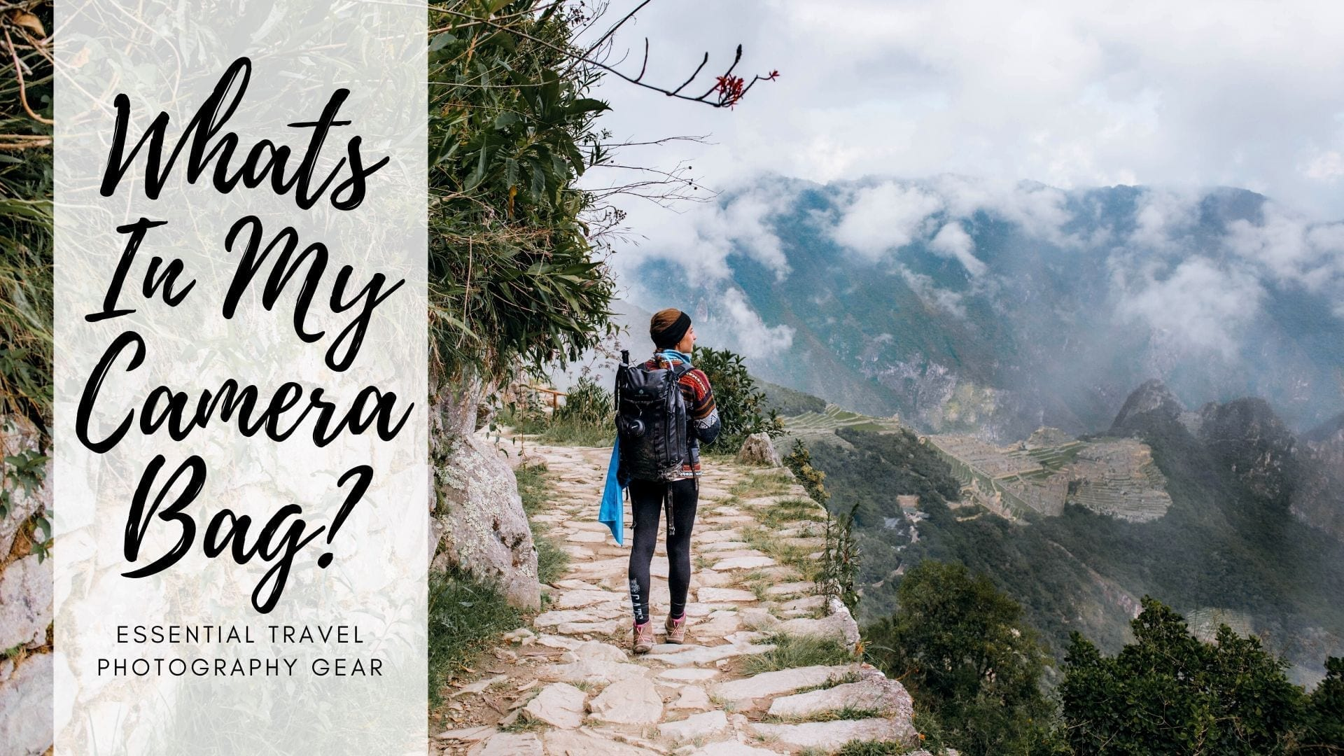 Essential Travel Photography Gear